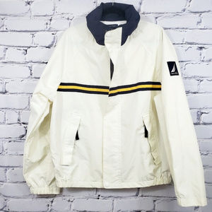 Vintage Nautica Mens NS-83 Windbreaker Jacket